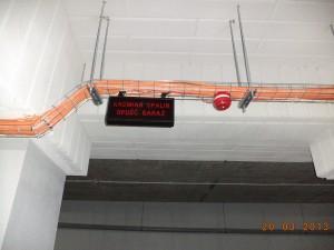 Lampa ostrzegawcza o Tlenku węgla